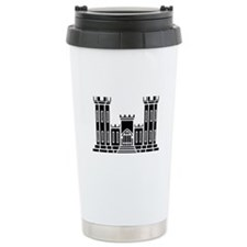 Engineer Branch Insignia - B-W Travel Mug