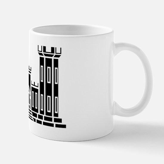 Engineer Branch Insignia - B-W Mug