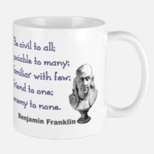Be civil Mug