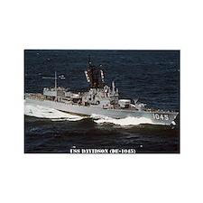 USS DAVIDSON Rectangle Magnet