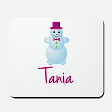 Tania the snow woman Mousepad