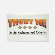 Trust E. Scientist Rectangle Magnet