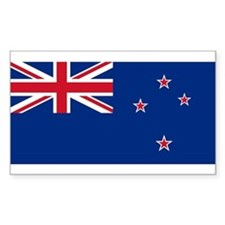 Flag of New Zealand Rectangle Decal