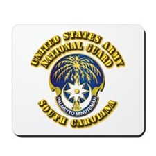 Army National Guard - South Carolina Mousepad