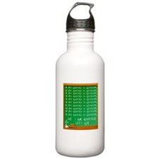 Addicted to Geocaching Water Bottle