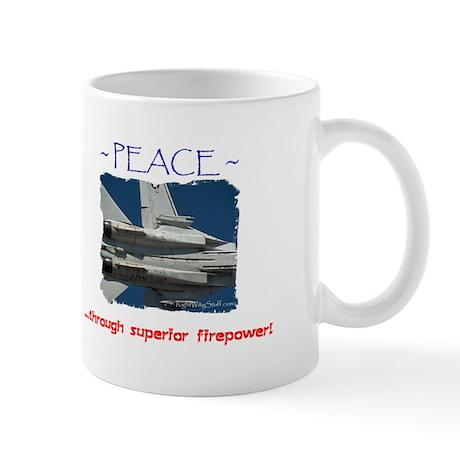 Firepower3Mug Mugs