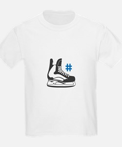 Skate and number T-Shirt