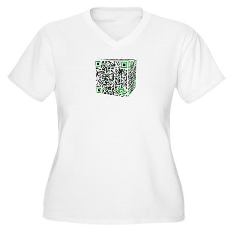 We are Borg Women's Plus Size V-Neck T-Shirt