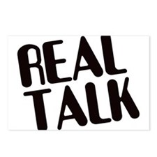 Real Talk Postcards (Package of 8)