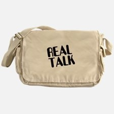 Real Talk Messenger Bag