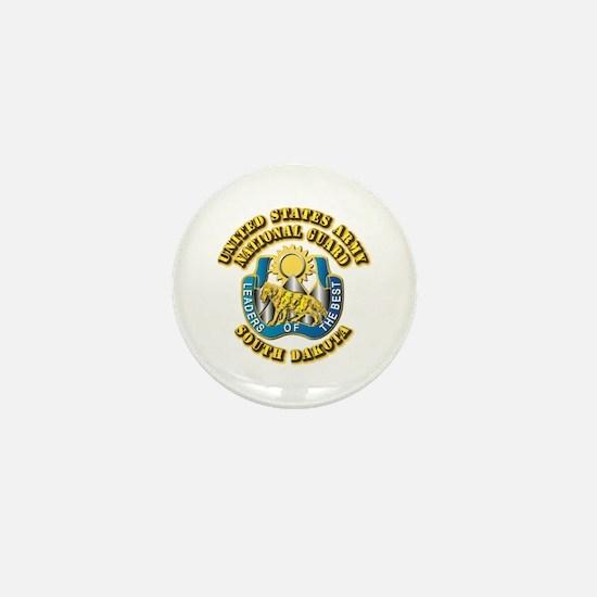 Army National Guard - South Dakota Mini Button