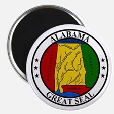 Seal of Alabama Magnet