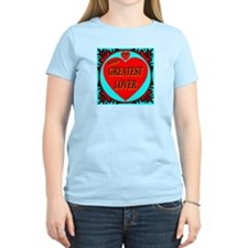 The World's Greatest Lover Women's Pink T-Shirt
