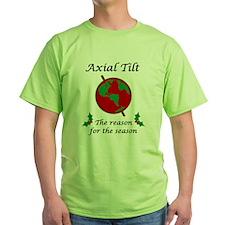 Axial Tilt Reason Season T-Shirt