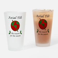 Axial Tilt Reason Season Drinking Glass