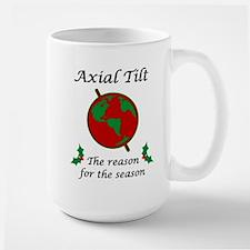 Axial Tilt Reason Season Large Mug
