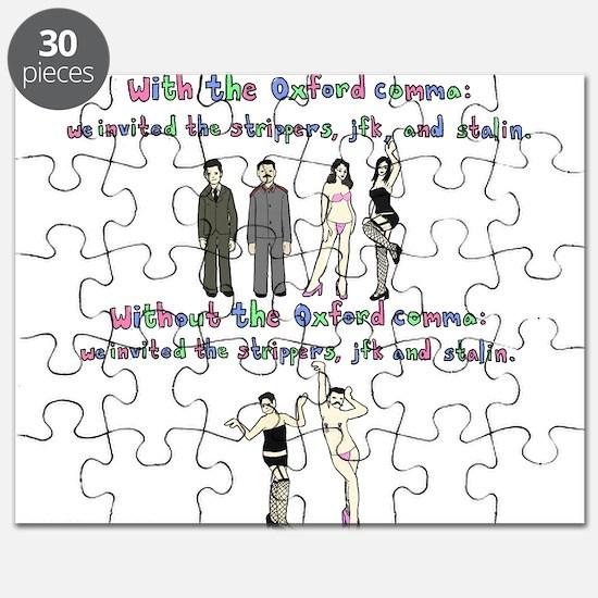 Oxford comma Puzzle