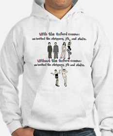Oxford comma Hoodie
