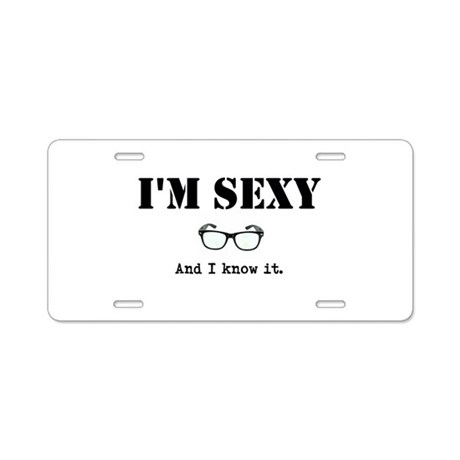 Novelties and Gifts Aluminum License Plate
