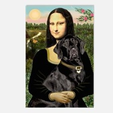 Mona's Black Lab Postcards (Package of 8)