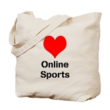 Heart Online Sports Tote Bag