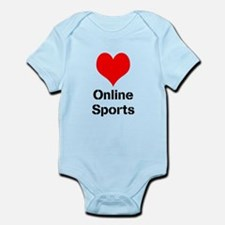 Heart Online Sports Infant Bodysuit