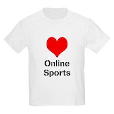 Heart Online Sports T-Shirt