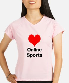 Heart Online Sports Performance Dry T-Shirt