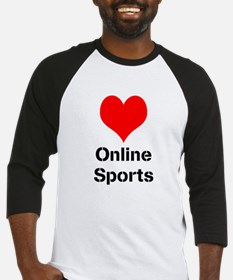 Heart Online Sports Baseball Jersey