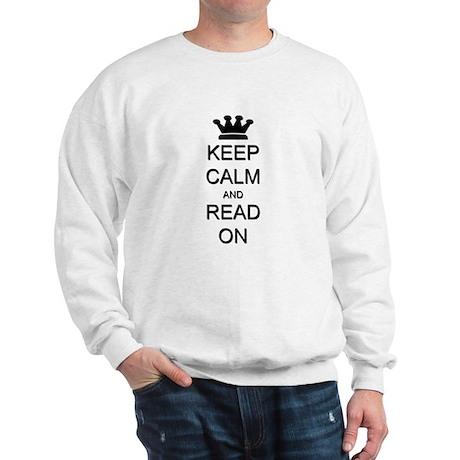 Keep Calm and Read On Sweatshirt
