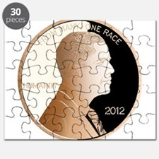 Obama Humanity Penny Puzzle
