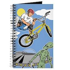 BMX Bike Alien Attack Journal