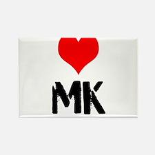 Love MK Rectangle Magnet