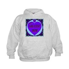 The World's Greatest Mom Purp Hoodie