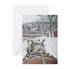 Jingle Bells Christmas Cards (Pk of 10)