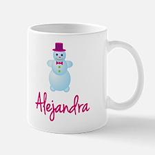 Alejandra the snow woman Mug