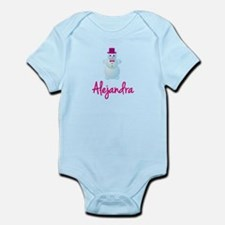 Alejandra the snow woman Infant Bodysuit