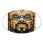 DA MAN Sticker (Oval 50 pk)