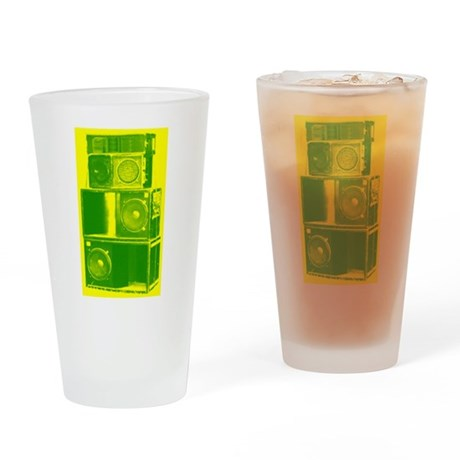 SOUND POWER Drinking Glass