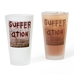 sufferation Drinking Glass