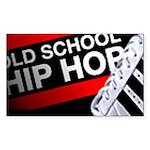 OLD SCHOOL Sticker (Rectangle 50 pk)