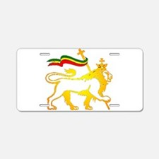 KING OF KINGZ LION Aluminum License Plate