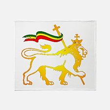KING OF KINGZ LION Throw Blanket