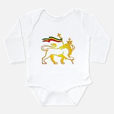 KING OF KINGZ LION Long Sleeve Infant Bodysuit