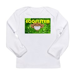 THE GREEN MONKEY BRING DAT B Long Sleeve Infant T-