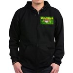 THE GREEN MONKEY BRING DAT B Zip Hoodie (dark)