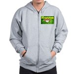 THE GREEN MONKEY BRING DAT B Zip Hoodie