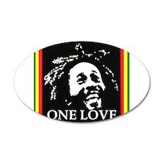 ONE LOVE 22x14 Oval Wall Peel