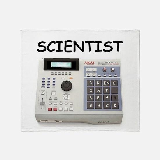 SCIENTIST Throw Blanket