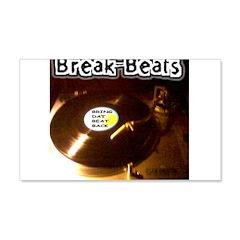 BDBB RECORDS 22x14 Wall Peel